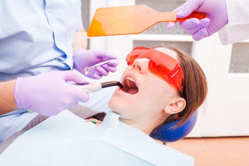 Laser pocket disinfection for healthy gums