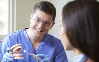 always keep in mind and work on avoiding is gum disease